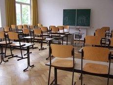 Klassenzimmer, Klasse, Stühle