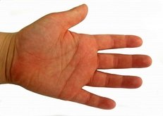 Hand, Handteller, Kinderhand,