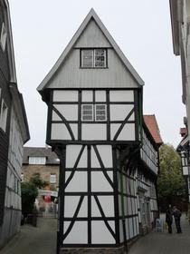 Bügeleisenhaus, Fachwerkhaus, Altstadt, Hattingen Ruhr, Heimatmuseum
