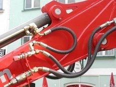 Hydraulik, Bagger, Schläuche