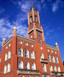 Kamenz, Rathaus, Neorenaissance, Gotthold Ephraim Lessing