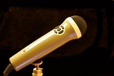 Mikrofon, Stativ, Singen