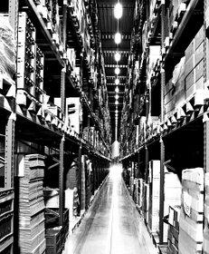 Lager, Regale, Fabrik