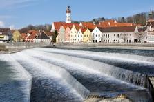 Lech, Lechwehr, Stadtbild