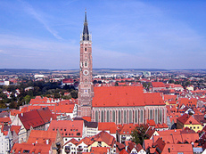 Martinskirche, Landshut, Altstadt