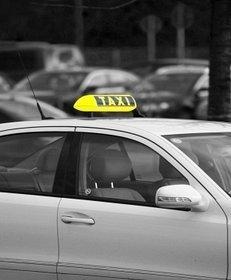 Taxi, Großstadt, Limousine