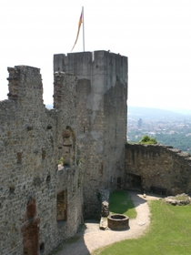 Lörrach, Burg, Röttler Schloss, Haagen