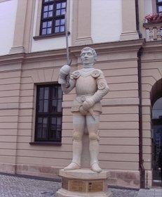 Roland, Rolandsfigur, Rathaus, Magdeburg