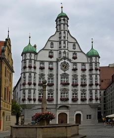 Rathaus, Memmingen, Renaissancebau, Marktplatz