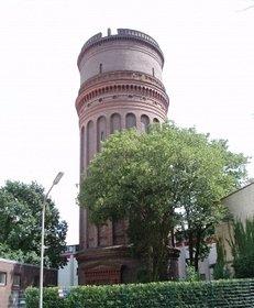 alter Wasserturm, Baudenkmal, Wasserversorgung, Industriedenkmal