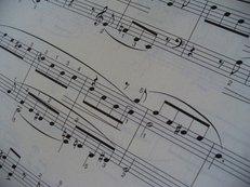 Musikalien, Noten, Notenhefte