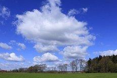 Landschaft, Natur, Wolken