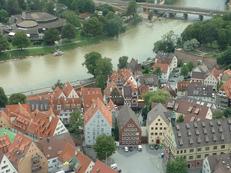 Fischerviertel, Neu-Ulm, Bayern