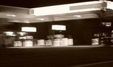 Tankstelle, Nacht, Notdienst