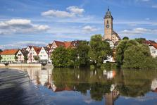 Nürtingen, Baden-Württemberg, Neckar, Esslingen