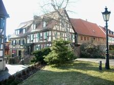Kirchplatz, Altstadt, Fachwerkhäuser