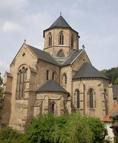 Benediktinerpropsteikirche, evangelische Pfarrkirche, Offenbach