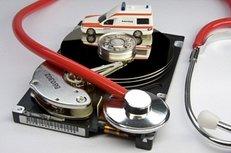 PC, Festplatte, Reparatur