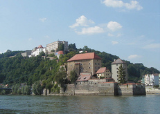 Veste Oberhaus, Passau, Donau