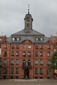Pirmasens, Rheinland-Pfalz, Rathaus, historisch