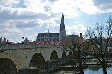 Regensburg, Brücke, Dom