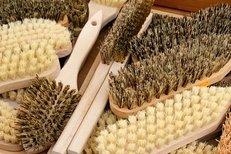 Reinigung, Bürsten, Borsten, Holzbürste