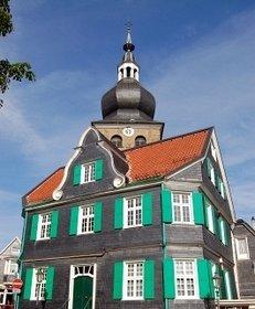 Remscheid, Schieferhaus, Marktplatz