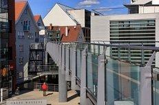 moderne Architektur, Häuser, Glas
