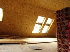 Dachausbau, innen, Schreiner, Bauarbeiten