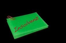 Insolvenz, Schuldnerberatung, Post-It, grün