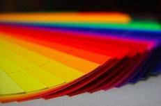 Siebdruck, Farbfächer, HKS-Töne, Druckfarben, Farbe