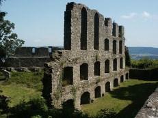 Singen, Festung, Gipfelburg, Mauer