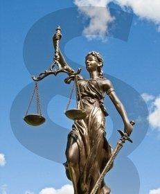 Justitia, Paragraph, Anwalt