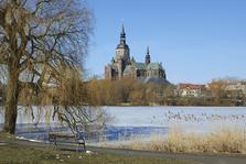 Kirche, Kirchen, Marienkirche, Neuer Markt, Basilika