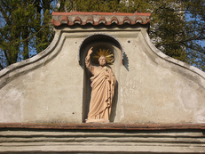 Straubing, St. Peter Friedhof, Kapelle