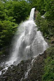Wasserfall, Naturschutzgebiet, Wanderwege, Wald