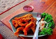 Thai Restaurant, Thai Essen, Garnelen