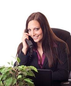 Beraterin, Telefon, persönlich