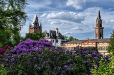 Schlosspark, Garten, Zentrum, Attraktion
