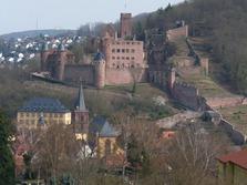 Burg Wertheim, Main-Tauber-Kreis, historisch, Altstadt, Main