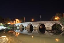 Wetzlar, alte Lahnbrücke, Altstadt