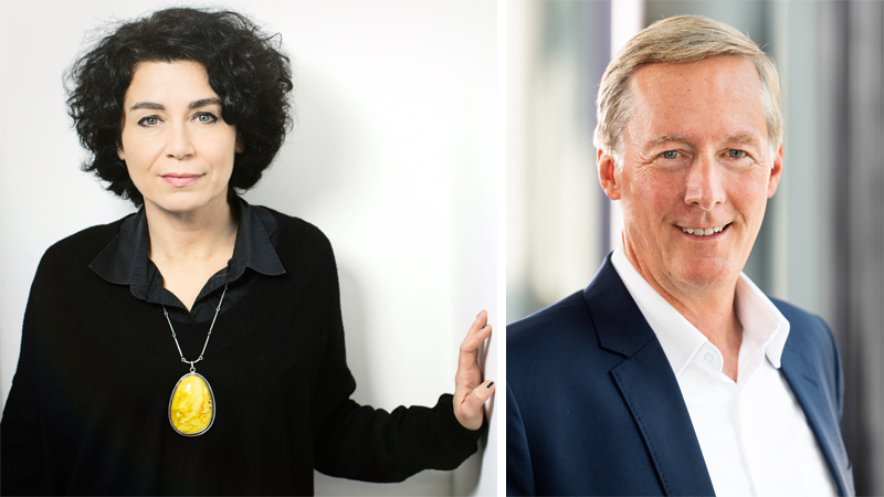 Andrea Rothaug und Dr. Harald Vogelsang