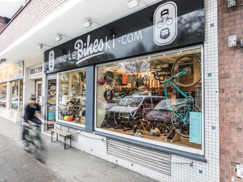 Fahrradladen in Hamburg: Big Lebikeski