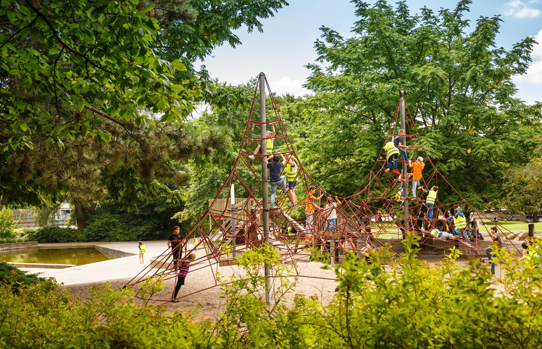 Spielplätze in Hamburg: Spielplätze in Grünanlagen und Parks