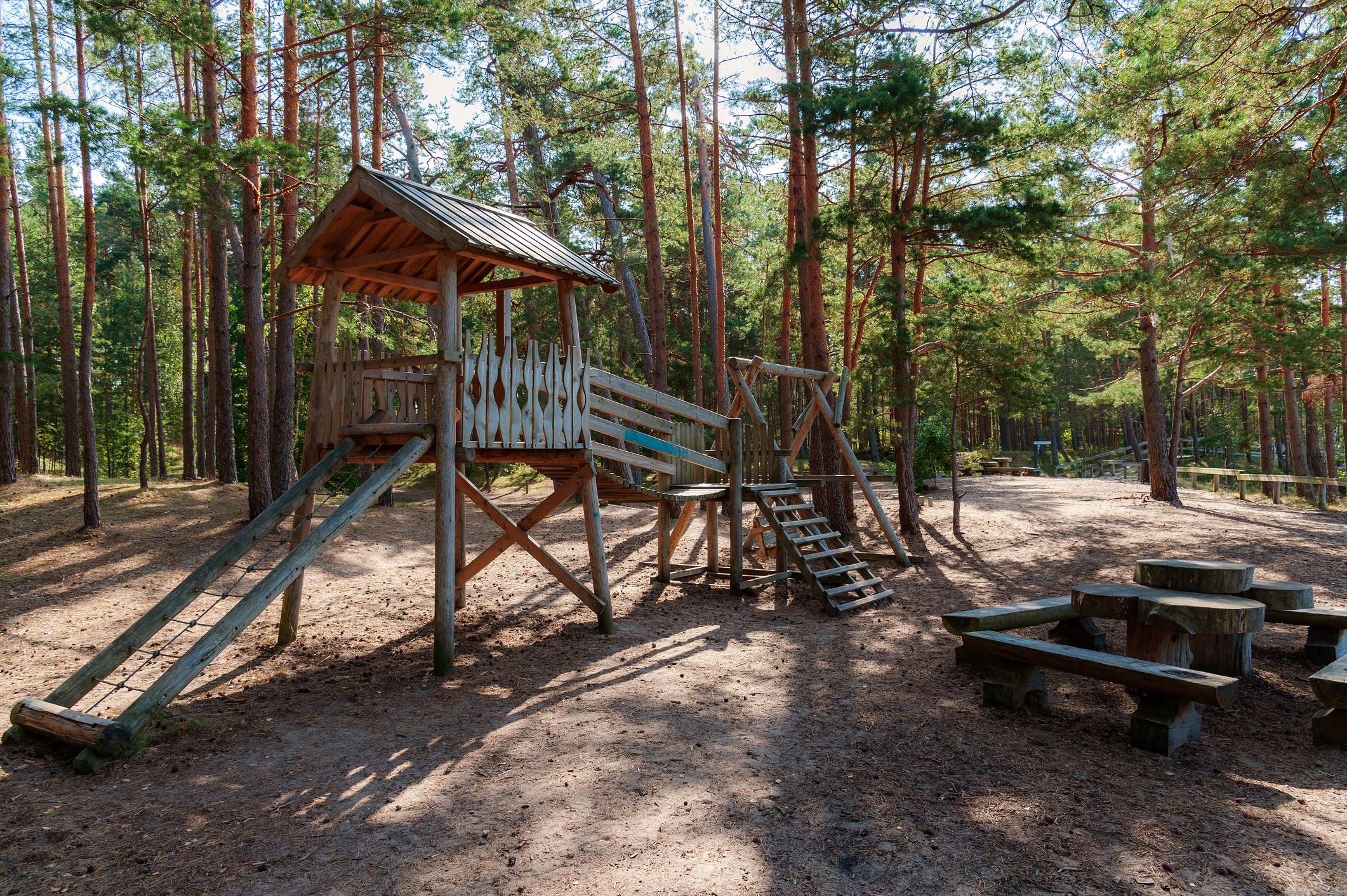 Spielplätze in Hamburg: Waldspielplätze
