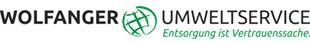Logo von WOLFANGER UMWELTSERVICE GmbH, Entsorgung ist Vertrauenssache