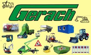 Gerach Container GmbH Container Baumaschinen Verleih