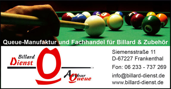 Billard -Dienst & Arthur Queue