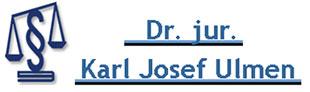 Ulmen Karl Josef Dr. jur.