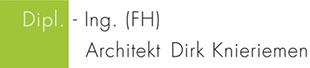 Logo von Knieriemen Dirk, Dipl.-Ing. (FH), Architekt